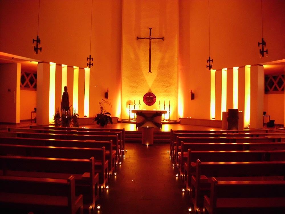 Kirche bunt klein